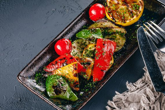 grill-vegetables-salad